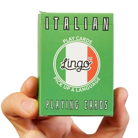 "Game - Lingo Playing Cards: Italian <font color = ""red"">On Sale</font>"