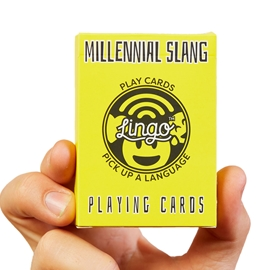 "Game - Lingo Playing Cards: Millenial <font color = ""red"">On Sale</font>"