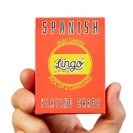"Game - Lingo Playing Cards: Spanish <font color = ""red"">On Sale</font>"