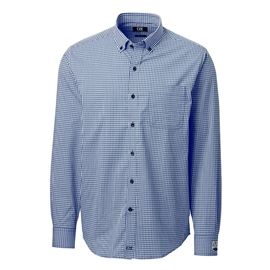 Shirt - Men's - UBC Executive Dress Shirt Anchor Gingham Plaid
