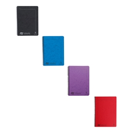 Notebook - Claire Fontaine Europa Notemaker Lined A5 Assorted Colours