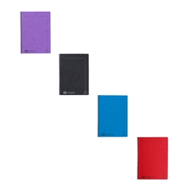 Notebook - Claire Fontaine Europa Notemaker Lined A4 Assorted Colours
