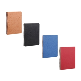 Notebook - Claire Fontaine Age Bag Wirebound Lined A5 Assorted Colours