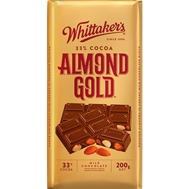Whittaker's Almond Gold 200g