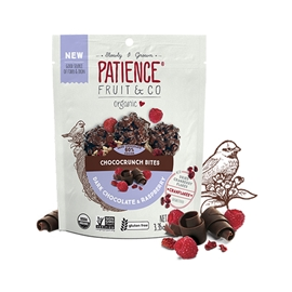 Patience Fruit, Chococrunch Bites, Dk Choco & Chai 95g