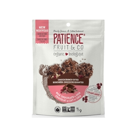 Patience Fruit, Chococrunch Bites, Milk Choco & Chia 95g