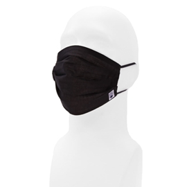 Mask - UBC High Filtration Fabric Black Assorted Sizes *Final Sale*