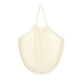 Kikkerland - XL Cotton Carry-All Bag: White