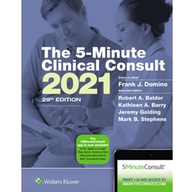 5 MINUTE CLINICAL CONSULT 2021