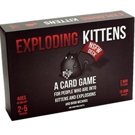 Game - Exploding Kittens: NSFW Edition