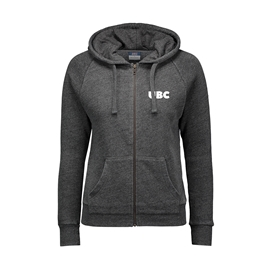 Sweatshirt - Hoodie - Women's Full Zip Stockton Angel  Charcoal