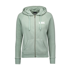 Sweatshirt - Hoodie - Women's Full Zip Stockton Angel Green