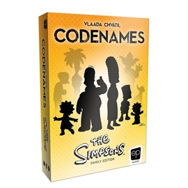 Game - Codenames: Simpsons