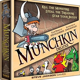 Board Game - Munchkin Deluxe