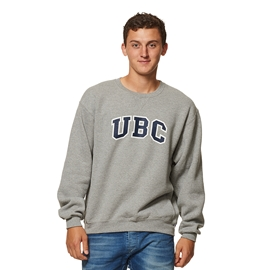 Sweatshirt - Crewneck - UBC Basic Grey