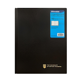 Composition Book - Imprinted UBC Hardcover Notebook