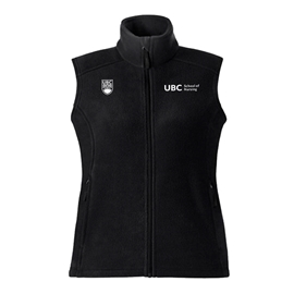 Vest - Women's Fleece UBC Nursing