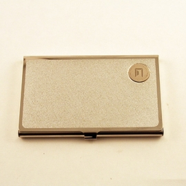 Business card case - Sauder - stainless steel