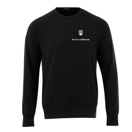 FOM Crewneck - Men's <font color = &quot;red&quot;> Personalized </font> Elevate Sweatshirt Black