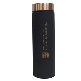 Tumbler - UBC Le Baton Travel Bottle Black and Copper 17oz