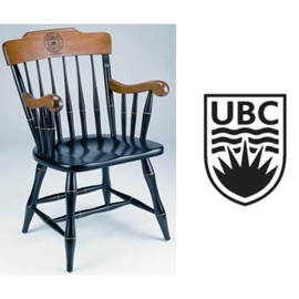 Custom Chair - Standard Captain's Chair with UBC Crest