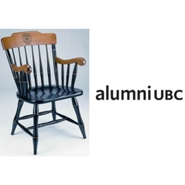 Custom Chair - Standard Captain's Chair with alumniUBC Logo