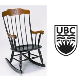 Custom Chair - Boston Rocker with UBC Crest