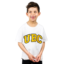 T-Shirt - Youth UBC Arch Screen White