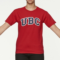 T-Shirt - Youth UBC Arch Screen Red
