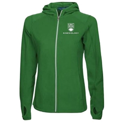 "KUS <font color = ""red""> Personalized </font> Elevate Women's Fleece Jacket Green"