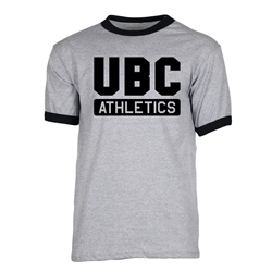T-Shirt - UBC Athletics Black