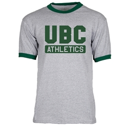 T-Shirt - UBC Athletics Green