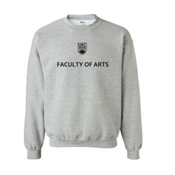 "Arts Sweatshirt  - Classic <font color = ""red""> Personalized </font> Unisex Crewneck Grey"