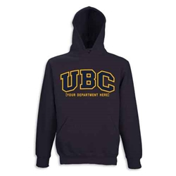 Hoodie - Customizable Faculty UBC Twill Hood - Navy