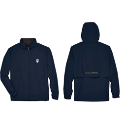 "alumniUBC Jacket -  <font color = ""red""> Personalized </font> Men's Techno Lite Jacket"