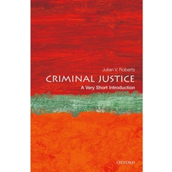 CRIMINAL JUSTICE: VERY SHORT INTRODUCTION
