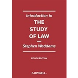 INTRODUCTION TO THE STUDY OF LAW 8TH EDITION