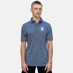 Polo Shirt - UBC Crown Luxe Melange Navy