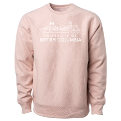 Sweatshirt - Crewneck - Clock Tower Premium Light Pink