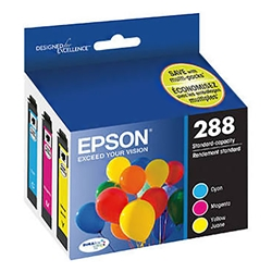 Ink Cartridge - Epson 288 Tri Colour Standard Capacity T288520-S