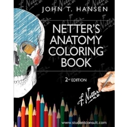 NETTERS ANATOMY COLORING BOOK 2ND EDN WITH STUDENT CONSULT ACCESS 2E