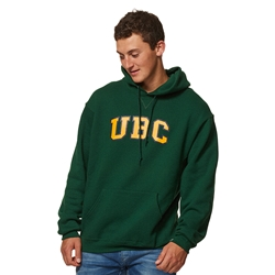 Hoodie - UBC Screen Print Forest Green