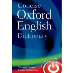CONCISE OXFORD ENGLISH DICTIONARY MAIN 12TH EDN (NOT THUMB-INDEXED)